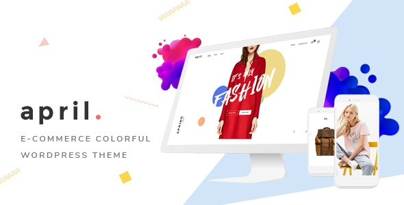 Download free APRIL v4.5 – Wonderful Fashion WooCommerce WordPress Theme