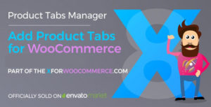 Download free Add Product Tabs for WooCommerce v1.3.1