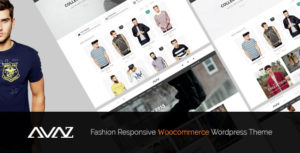 Download free Avaz v2.3 – Fashion Responsive WooCommerce Theme