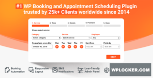 Download free Bookly Booking Plugin v18.3 + Addons