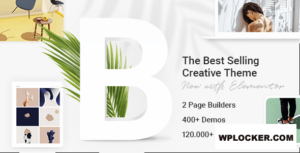 Download free Bridge v21.5 – Creative Multi-Purpose WordPress Theme