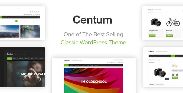 Download free Centum v3.3.12 – Themeforest Responsive WordPress Theme