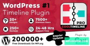 Download free Cool Timeline Pro v3.4.2 – WordPress Timeline Plugin