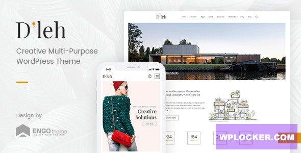 Download free D'leh v1.2 – Creative Multi-Purpose WordPress Theme