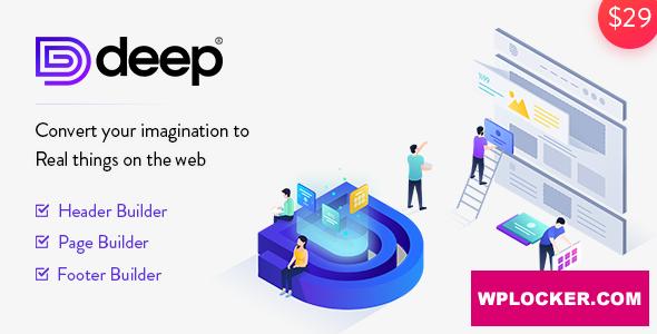 Download free Deep v4.2.0 – Creative Multi-Purpose WordPress Theme