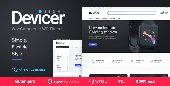 Download free Devicer v1.0.7 – Electronics, Mobile & Tech Store