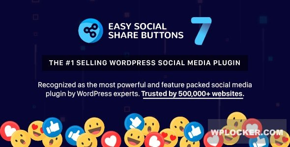 Download free Easy Social Share Buttons for WordPress v7.2