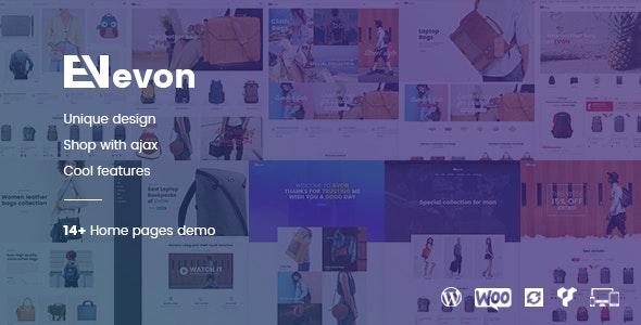 Download free Evon v2.4 – Bag Store WooCommerce WordPress Theme