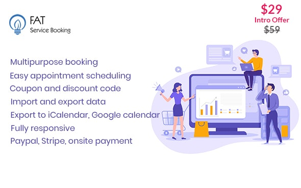 Download free Fat Services Booking v2.2 – Automated Booking and Online Scheduling