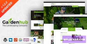Download free Garden HUB v1.2.2 – Lawn & Landscaping WordPress Theme