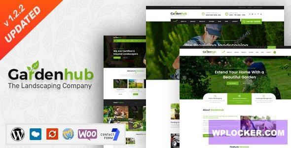 Download free Garden HUB v1.2.2 – Lawn & Landscaping WordPress Theme