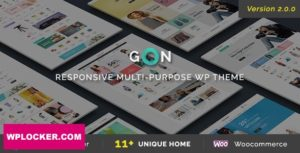 Download free Gon v2.0.8 – Responsive Multi-Purpose Theme
