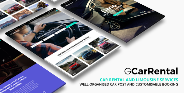 Download free Grand Car Rental v2.7 – Limousine Car Rental WordPress