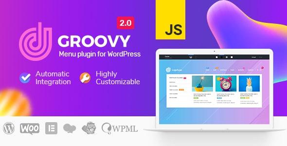 Download free Groovy Menu v2.0.14 – WordPress Mega Menu Plugin