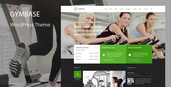 Download free GymBase v13.4 – Responsive Gym Fitness WordPress Theme