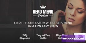 Download free Hero Menu v1.12 – Responsive WordPress Mega Menu Plugin