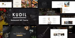 Download free Kudil v1.7 – Cafe, Restaurant WordPress Theme