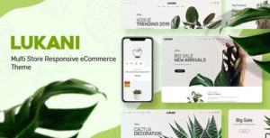 Download free Lukani v1.0.5 – Plant Store Theme for WooCommerce WordPress