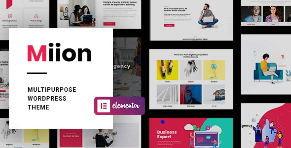 Download free Miion v1.1.4 – Multi-Purpose WordPress Theme