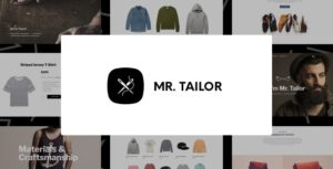 Download free Mr. Tailor v2.9.15 – Responsive WooCommerce Theme