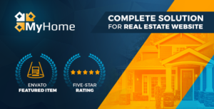 Download free MyHome v3.1.38 – Real Estate WordPress Theme