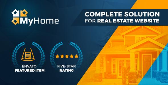Download free MyHome v3.1.38 – Real Estate WordPress Theme