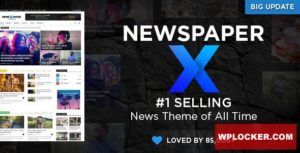 Download free Newspaper v10.3.4 – WordPress News Theme