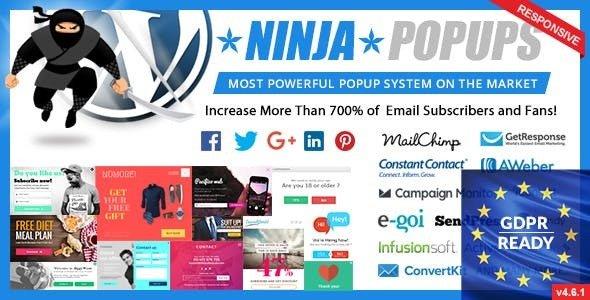 Download free Ninja Popups for WordPress v4.6.5