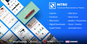 Download free Nitro v1.7.7 – Universal WooCommerce Theme