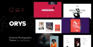 Download free Orys v1.0.5 – Creative Photography Theme
