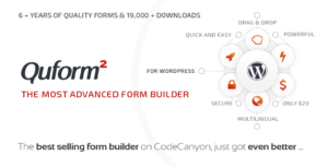 Download free Quform v2.11.0 – WordPress Form Builder