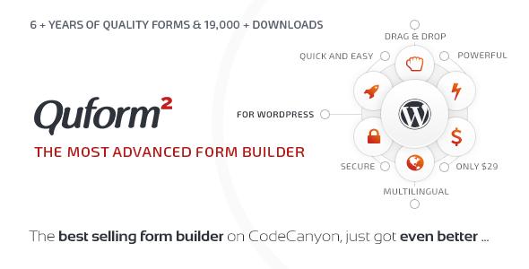 Download free Quform v2.11.0 – WordPress Form Builder