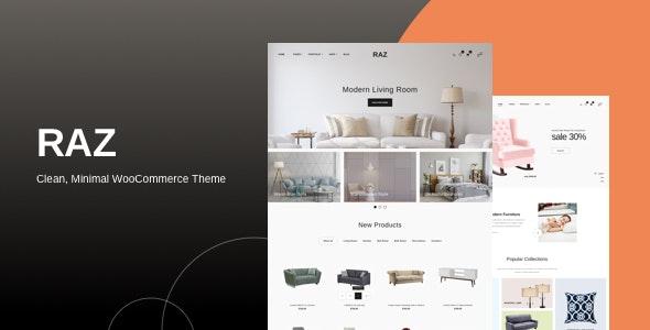 Download free Raz v1.0.2 – Clean, Minimal WooCommerce Theme
