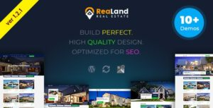 Download free ReaLand v1.2.1 – Real Estate Responsive WordPress Theme