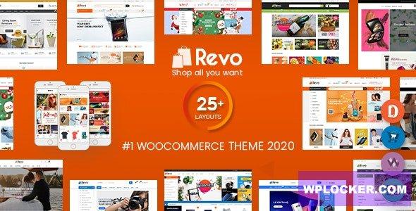 Download free Revo v3.6.4 – Multi-purpose WooCommerce WordPress Theme