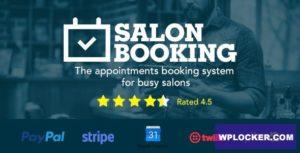Download free Salon Booking v3.3.8 – WordPress Plugin
