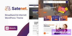 Download free Satenet v1.0.0 – Broadband & Internet WordPress Theme
