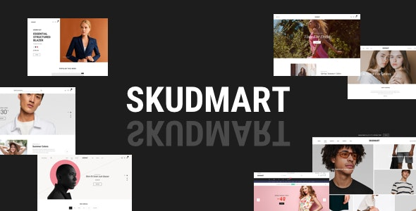 Download free Skudmart v1.0.5 – Clean, Minimal WooCommerce Theme