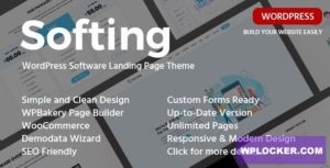 Download free Softing v1.3.2 – WordPress Software Landing Page Theme