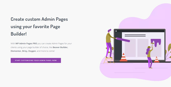 Download free WP Admin Pages PRO v1.8.0