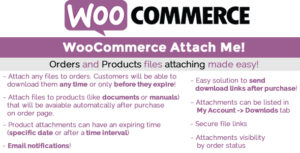 Download free WooCommerce Attach Me! v1.81