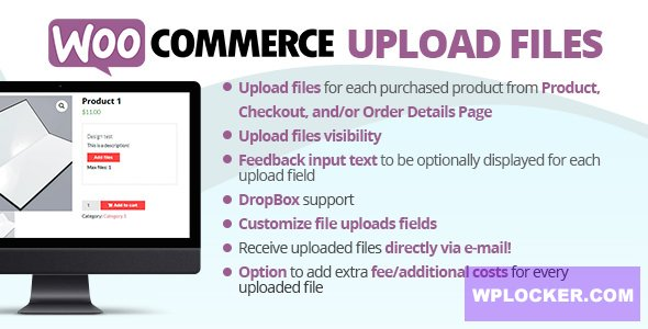 Download free WooCommerce Upload Files v55.3