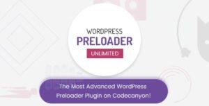 Download free WordPress Preloader Unlimited v4.1