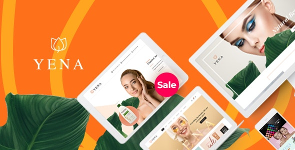 Download free Yena v1.0.3 – Beauty & Cosmetic WooCommerce Theme