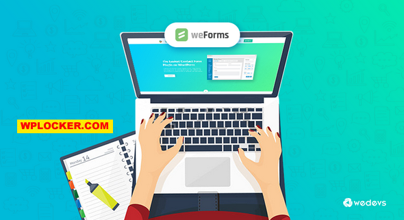 Download free weForms Pro v1.3.11 – Experience a Faster Way of Creating Forms