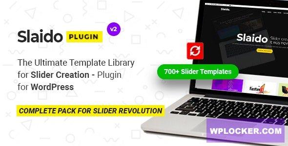 Download free Slaido v2.0.5 – Template Pack for Slider Revolution WordPress Plugin