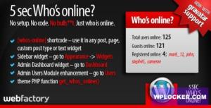 Download free 5sec Who's Online v1.2