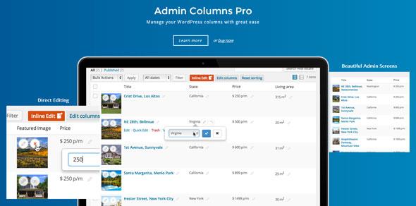Download free Admin Columns Pro v5.2