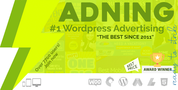 Download free Adning Advertising v1.5.6 – All In One Ad Manager