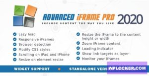 Download free Advanced iFrame Pro v2020.4